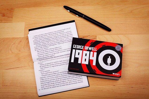 """18. """"1984"""", (1949), George Orwell"""