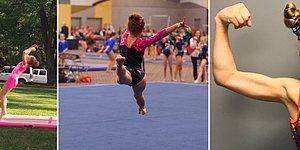 Yeteneği ile Şimdiden Gelecekteki Olimpiyatlara Göz Kırpan 10 Yaşındaki Jimnastikçi: Myka
