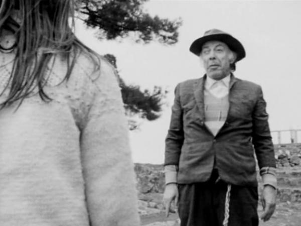 1988 Yapımı 'A AY' Filminde Münir Özkul'dan İtalyanca Tirat
