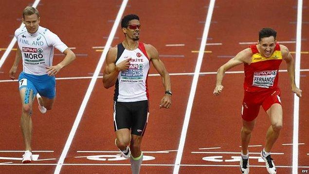 2013'den beri vatandaşımız ve bu olimpiyatlarda atletizmde kazandığımız tek madalyamızın sahibi Yasmani Copello Escobar'a teşekkür ediyoruz!