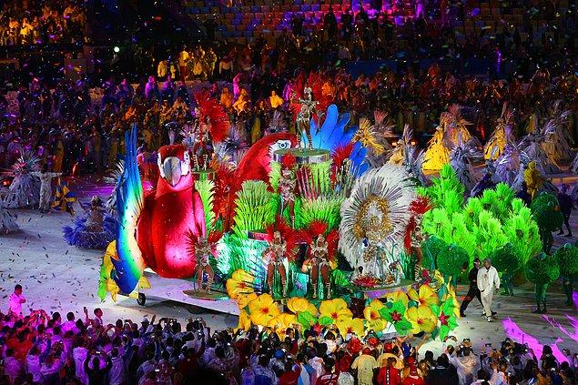 ''Teşekkürler Rio, tebrikler Brezilya''