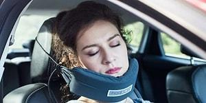 Yolculukta Uyumanızı Kolaylaştıracak Fişek Gibi İcat: NodPod