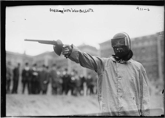 14. Olimpiyatlarda tabanca müsabakası, 1906-1912