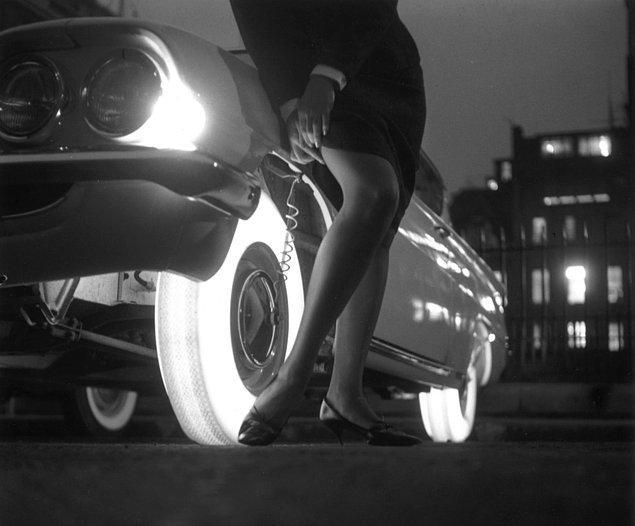 15. Goodyear firması tarafından görücüye çıkarılıp üretiminden vazgeçilen karanlıkta parlayan lastikler, 1961.