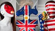 Kendi Bayraklarına Boyanmış Modellerin Ulusal Yemeklerini Tanıtan Çalışma: Şişman Bayrak!