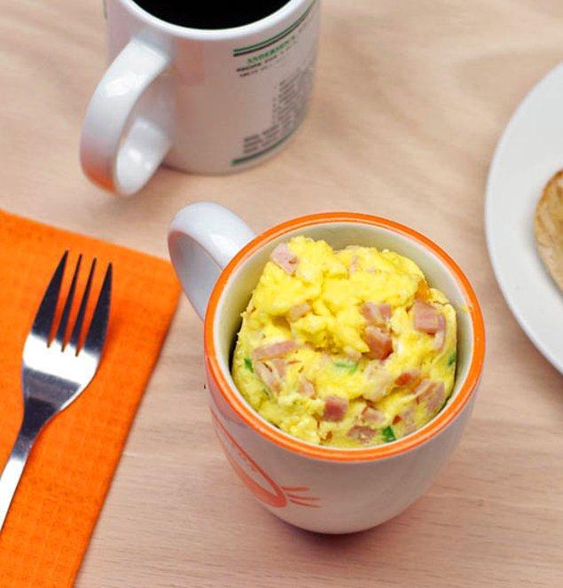 1. Mutfağın ne durumda olduğu önemli değil ama yumurtayı çeşitlendirebilirsiniz!