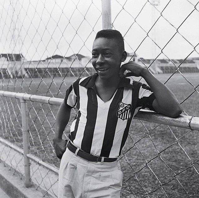 21. Pelé, 1956.
