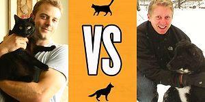 Karşılaştırmalı Görüntülerle Kedi Sahibi İnsanın Hayatı vs Köpek Sahibi İnsanın Hayatı