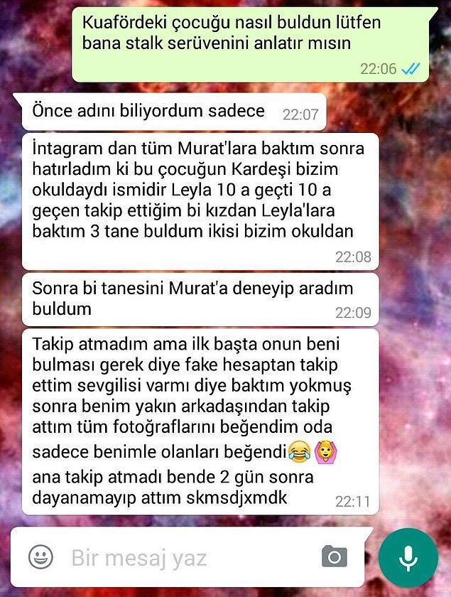 16. Peki bunlardan Murat'ın haberi olacak mı?