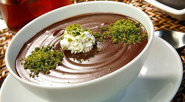 4. Çikolata sevenler de böyle gelsin!