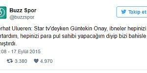 Türk Futbol Dünyasının Gördüğü Gelmiş Geçmiş En Acayip 21 Tweet