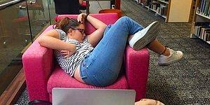 Kütüphanede Uyuyakalan Öğrenci Photoshop Ustalarının Kurbanı Oldu!