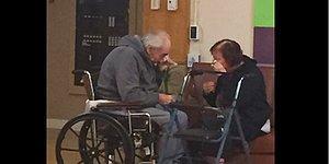 Bakımevinde Ayrı Yaşamak Zorunda Bırakılan Yaşlı Çiftin Göz Yaşartıcı Anları