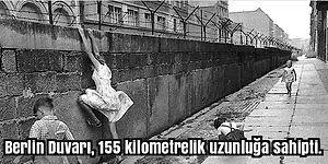 Yalnızca Bir Ülkeye Değil, İnsanlığımıza Çizilmiş Bir Sınır Olan Berlin Duvarıyla İlgili 17 İlginç Bilgi