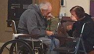 Ayrı Bakımevinde Yaşamak Zorunda Bırakılan Yaşlı Çiftin Göz Yaşartıcı Anları