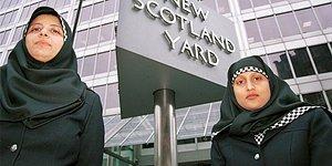 İskoçya'da Müslüman Kadın Polisler İçin 'Başörtülü Üniforma' Seçeneği Resmileşti