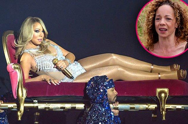 İki kız kardeş arasındaki gerginliğin nedeni bilinmiyor, ama Mariah'nın geri adım atmayacağı net olarak görülüyor.