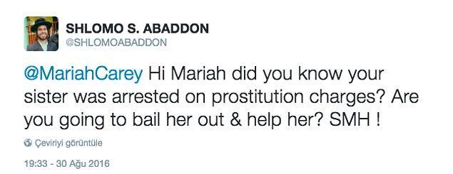 Selam Mariah! Kız kardeşinin fuhuş nedeniyle tutuklandığını biliyor musun? Onun kefaretle serbest kalmasını sağlayacak ve ona yardım edecek misin?