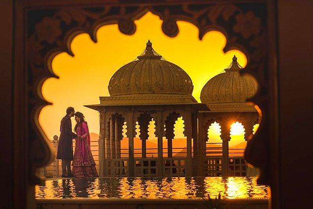4. Udaipur, Hindistan