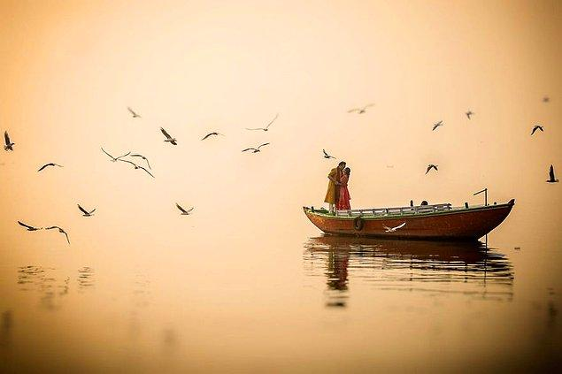 7. Varanasi, Hindistan
