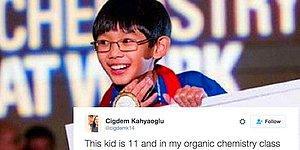 """Başarısıyla ve Zekasıyla İnsanlara """"Oha!"""" Dedirten 11 Yaşındaki Üniversite Öğrencisi!"""