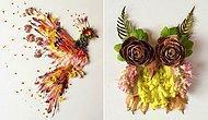 Yapraklarla Hikayeler Anlatan Kadın Bridget Beth Collins'in 12 Harika Çalışması