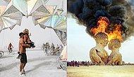 2016 Burning Man Festivali'nde Objektiflere Takılmış 34 Sıra Dışı An!