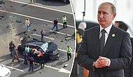 Vladimir Putin'in Makam Aracı Paramparça Oldu!