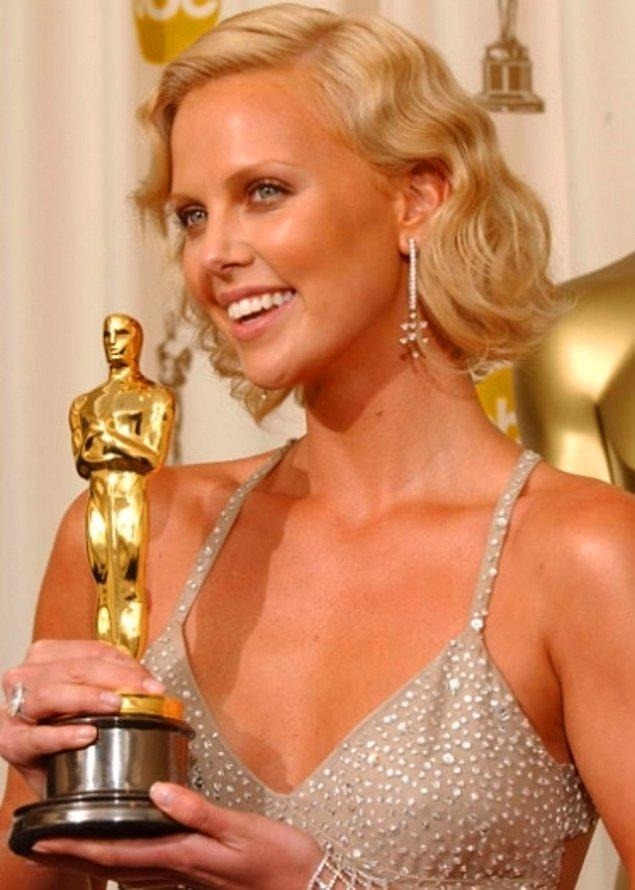6. Charlize Theron – Monster (Cani, 2003)