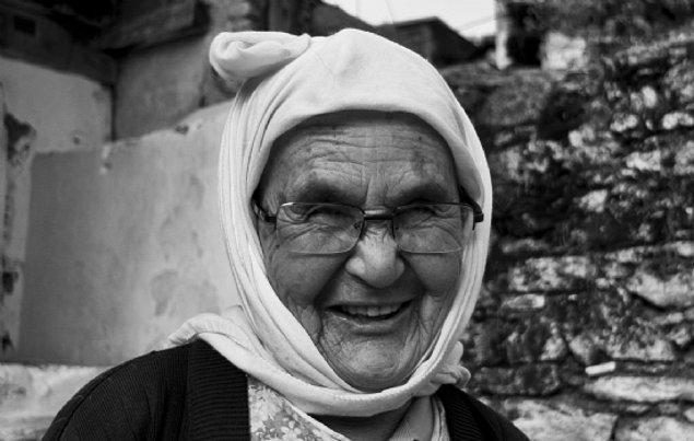 89 yaşında Trabzon'da!