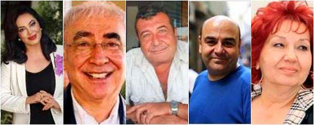 Türkan Şoray, Şener Şen, Tarık Pabuççuoğlu, Nedim Saban, Güven Hokna ve daha niceleri...