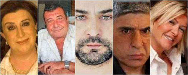 Perran Kutman, Tarık Pabuççuoğlu, Kerem Kupacı, Atilla Olgaç, Belma Canciğer ve daha niceleri...