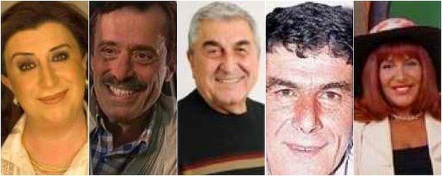 Perran Kutman, Şevket Altuğ, Cihat Tamer, Ercan Yazgan, Tuluğ Çizgen ve daha niceleri...