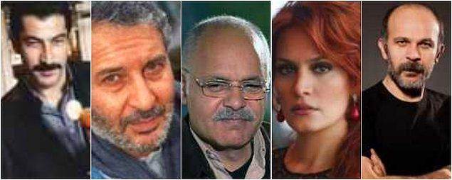 Kenan İmirzalıoğlu, Ali Sürmeli, Demir Karahan, Ebru Cündübeyoğlu, Emin Gürsoy ve daha niceleri...