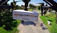 Türkiye'nin İlk Drone İle Teslimat Dönemi Başlıyor!