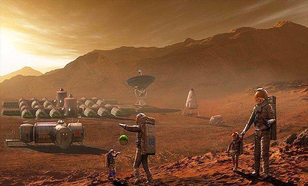 18. Sırlarına Vâkıf Olmaya Çalıştığımız Mars Gezegeni Hakkında Hiç Duymadığınız 20 İlginç Bilgi