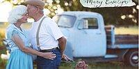 'Not Defteri' Filminden Esinlenmiş Fotoğraflarıyla Gözlerimizi Dolduran 57 Yıllık Evli Çift