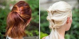 En Tembel Kadınların Bile Kolaylıkla Yapabileceği 23 Saç Modeli