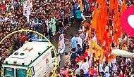 İnsanlığa İnanç Tazelendi: Festival Alanına Giren Ambulansa En Hızlı Şekilde Yol Veren İnsanlar