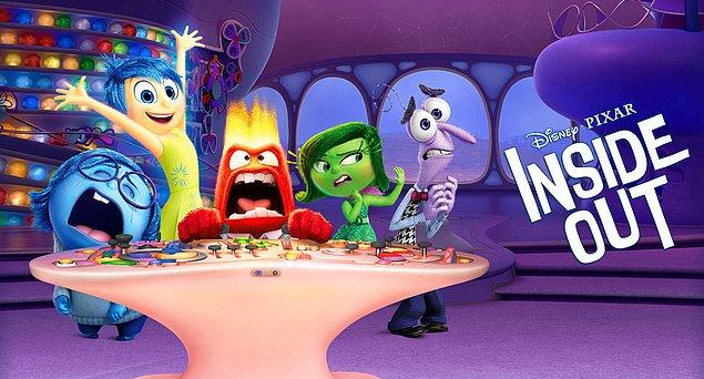7. Ters Yüz / Inside Out (2015)