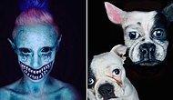 Boya Deyip Geçmeyin! 25 Yaşındaki Makyaj Sanatçısının Ortaya Çıkardığı Akıllara Zarar Eserler