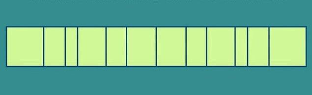 6. Son olarak: Bu şeriti çizgili yerlerden katladığın zaman elde edeceğin şekil sence bunlardan hangisi?