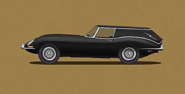 15. Jaguar'dan cenaze arabası olmaz demeyin. 😇