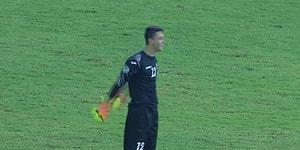 Özbekistan Kuzey Kore Maçında Kaleden Kaleye Sıradışı Gol!