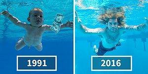 Nirvana'nın Çıplak Bebeği 'Nevermind' Albümünün 25. Yılı Şerefine Aynı Pozu Verdi!