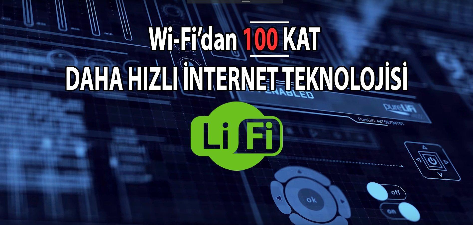 Hızlı Wi Fidan 100 Kat Daha Hızlı Teknoloji Işık Hızında Yeni