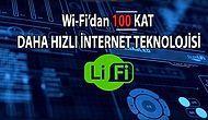 Hızlı Wi-Fi'dan 100 Kat Daha Hızlı Teknoloji: Işık Hızında Yeni Nesil İnternet Li-Fi