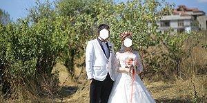 Yeni Evli Çifte Çok Güzel Olacak Diyerek Çöp Dolu Arazide Çekim Yapan Düğün Fotoğrafçısı