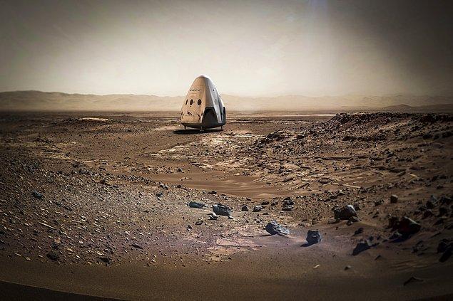 5. Elon Musk Heyecanla Beklenen İnsanlığı Mars'a Götürme Planının Tüm Detaylarını Açıkladı!