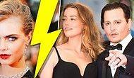 Johnny Depp Eşini Bir Kadına mı Kaptırdı? Beyin Yakan Hikayede Cara Delevingne Baş Rolde!